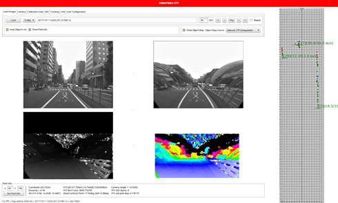 Car Track option Image processing