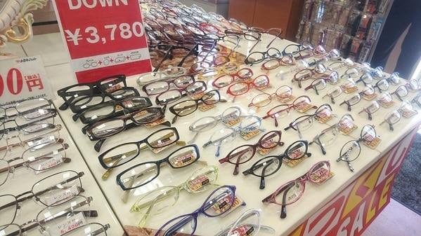 メガネハット アクロスプラザ千葉ニュータウン南店 改装セール ¥3,780