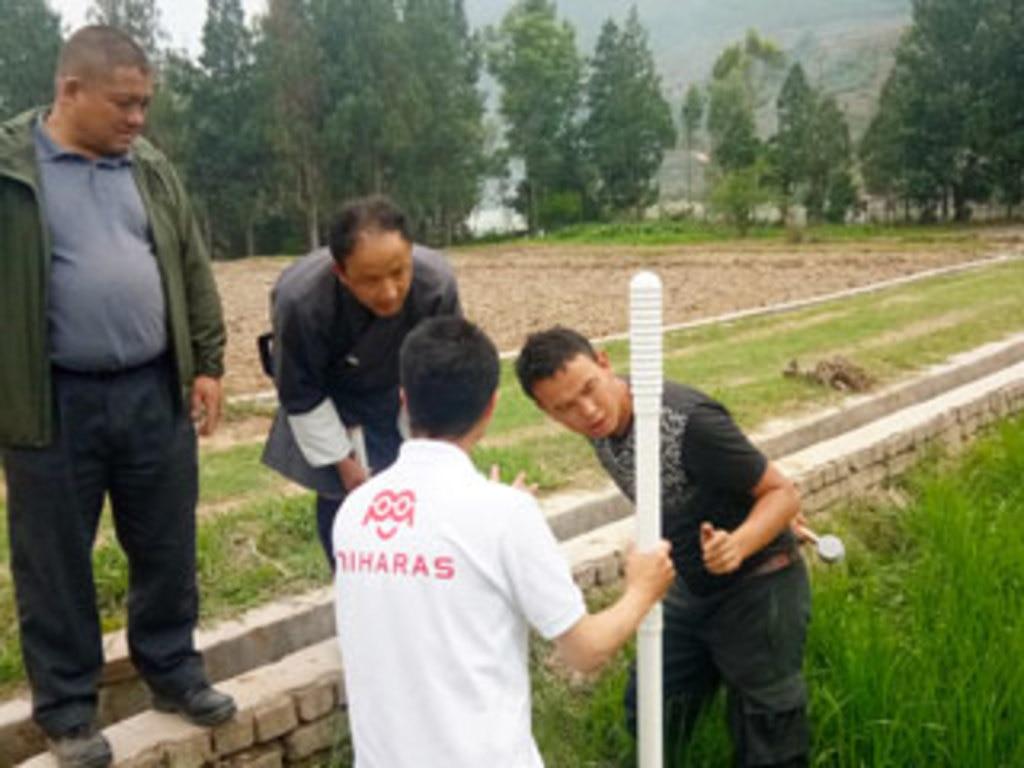 MIHARAS設置先:ブータン王国