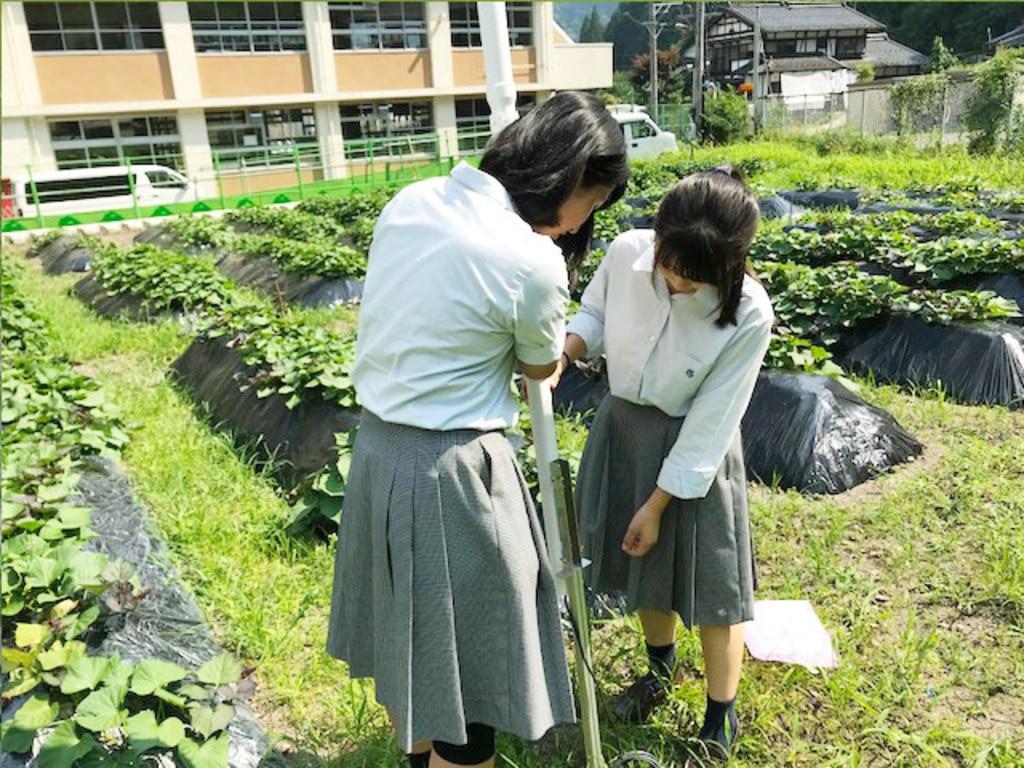 MIHARAS設置先:岐阜県立郡上高等学校 設置時