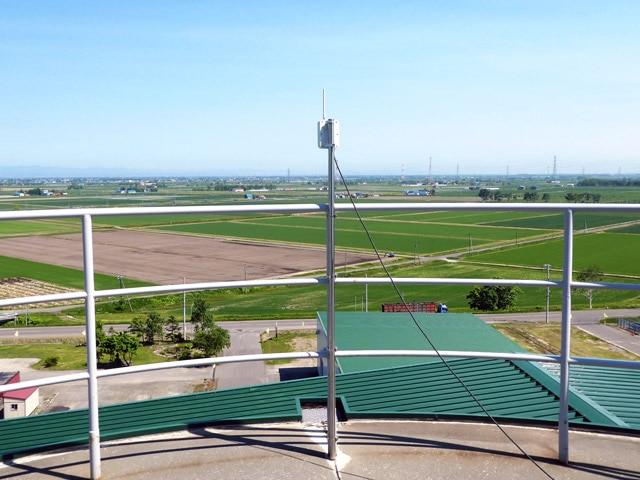 MIHARAS設置先:北海道 JAいしかり MIHARAS親機をライスターミナルに設置