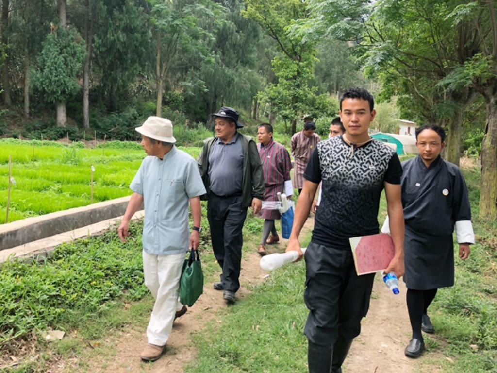 MIHARAS設置先:ブータン王国 有機農業実証試験