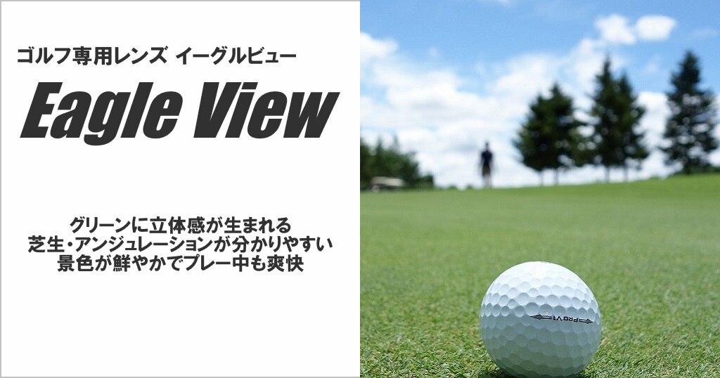 メガネハット ゴルフ専用レンズ イーグルビュー