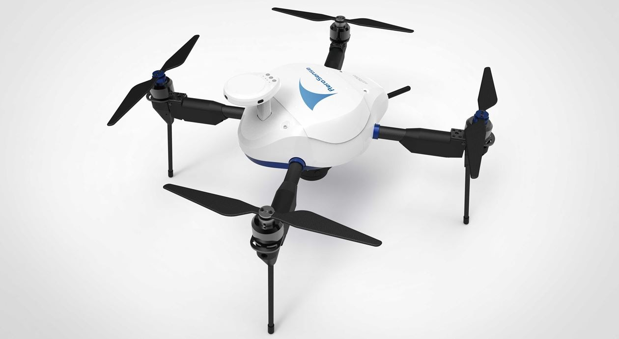 Autonomous flight drone AEROBO