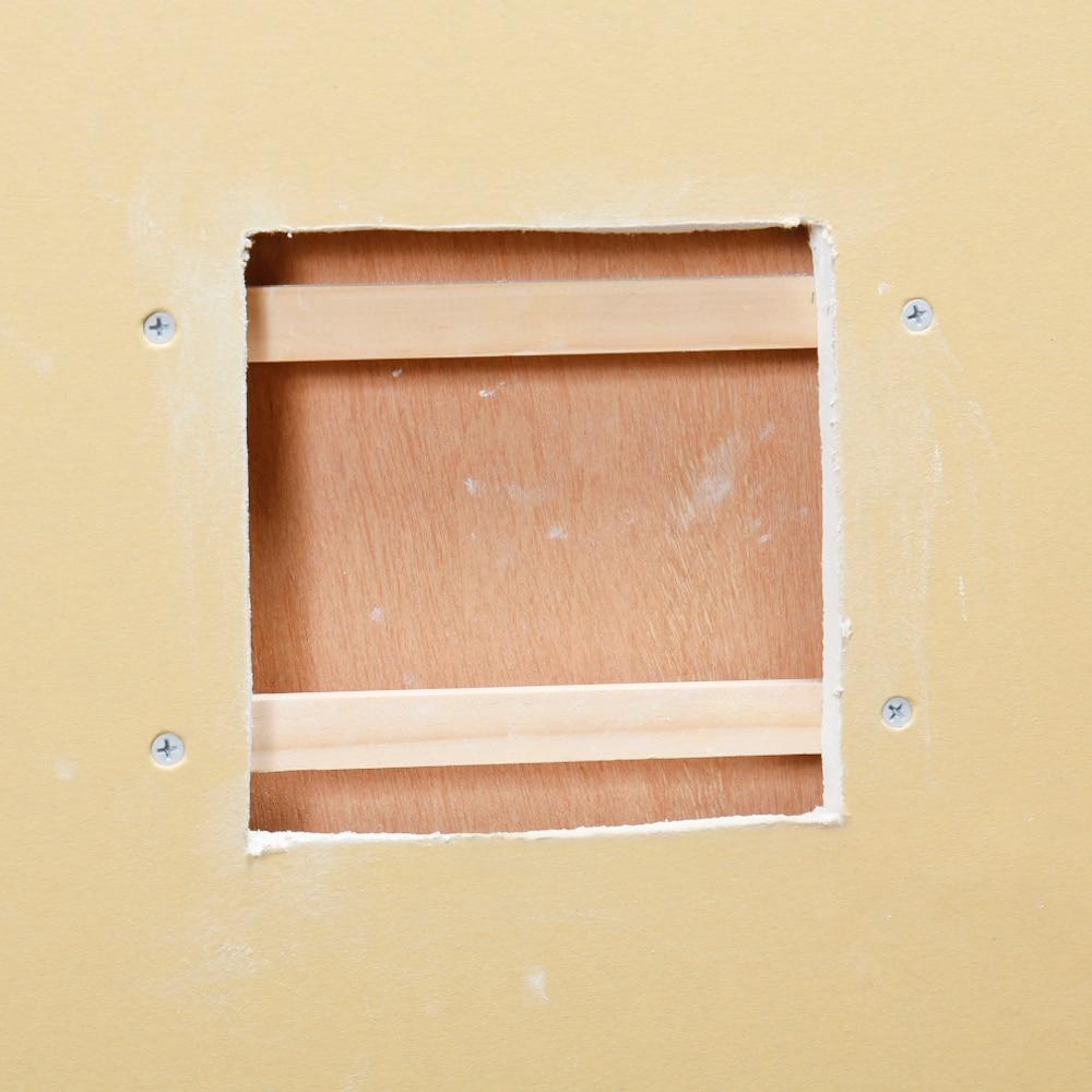 簡単!石膏ボードの補修方法 | diy clip! ー暮らしに創る喜びをー