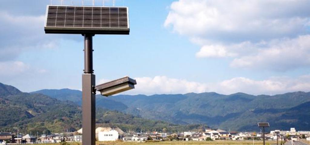 太陽光発電LED照明灯