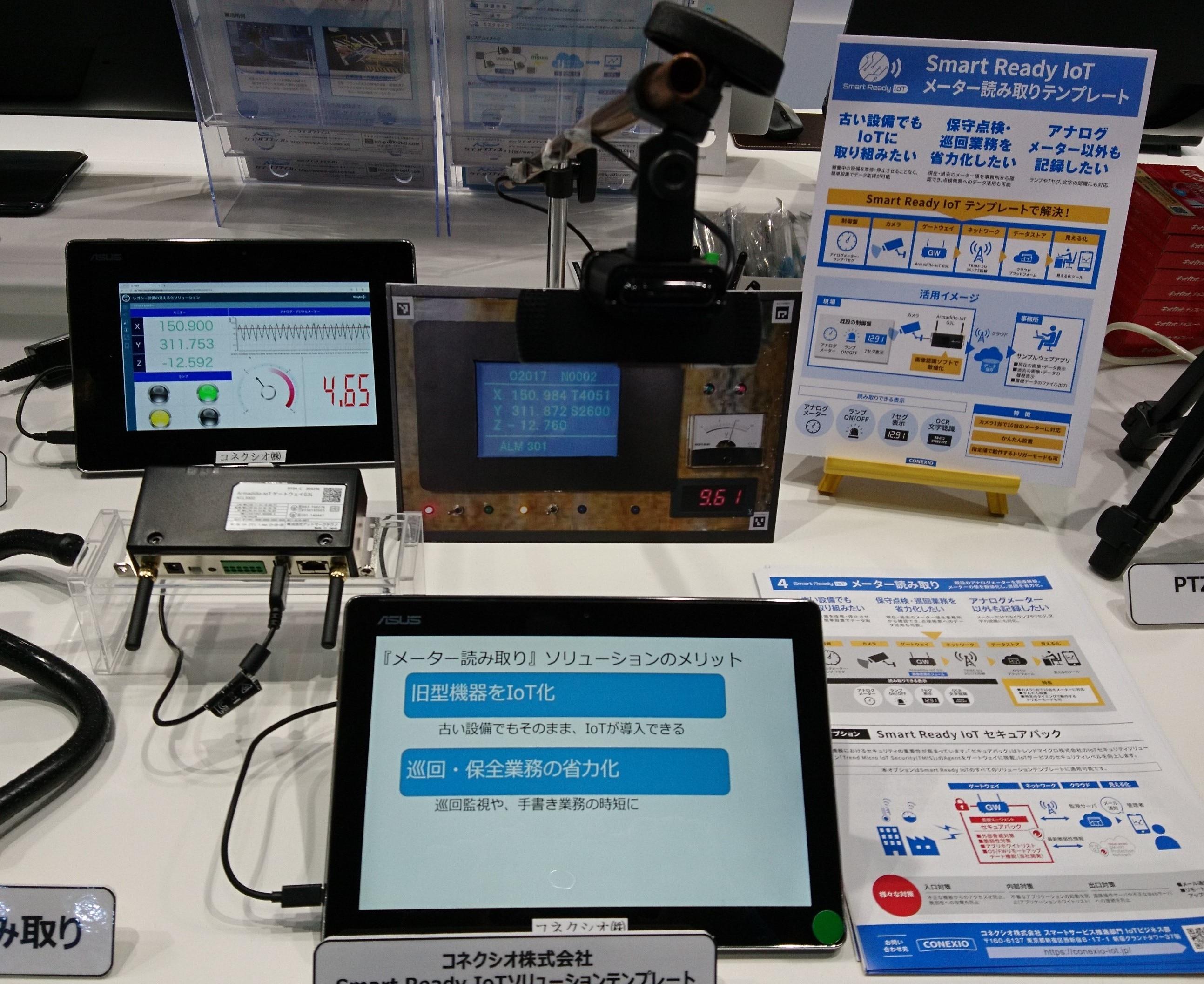 メーター読み取り展示 於関西IoT/M2M展