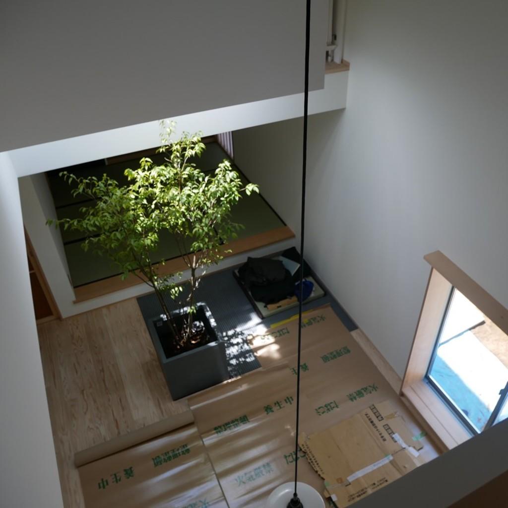 光ダクト実邸建築計画:外構と植栽トップ画像