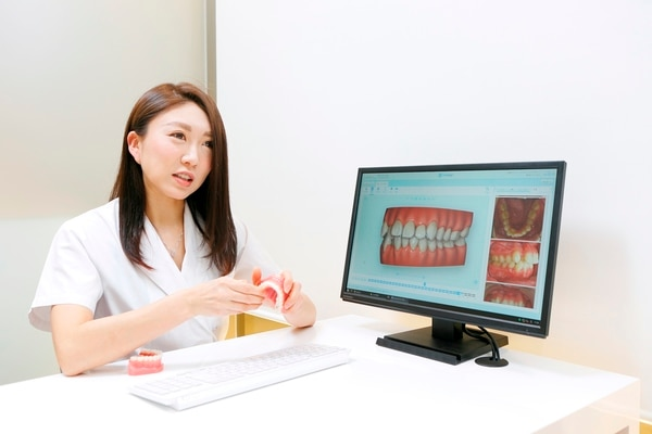 矯正歯科カウンセリング