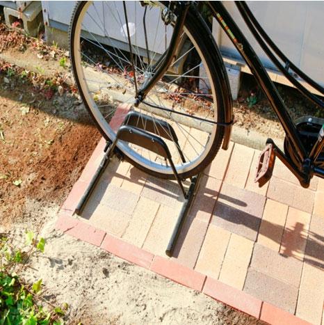 コンクリート diy 自転車 置き場