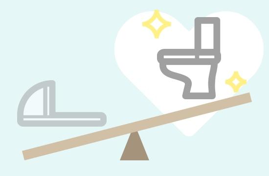 半数以上が「洋式トイレ」を希望