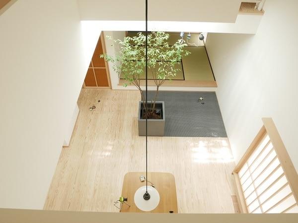光ダクト導入住宅 デジタルカメラ画像 夏期曇天時13:30