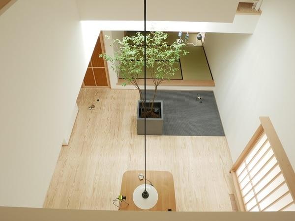 光ダクト導入住宅 デジタルカメラ画像 夏期曇天時10:30