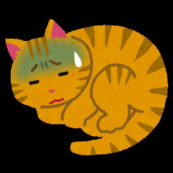 吐く ストレス 猫
