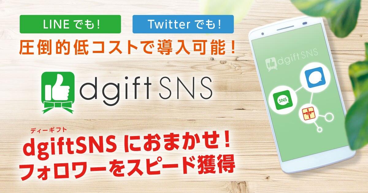 dgiftSNSご紹介資料