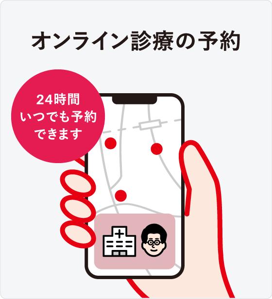 オンライン診療「クリニクス」STEP3:ご予約