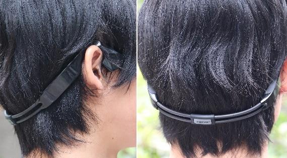 Bluetooth接続 防水 骨伝導イヤホン
