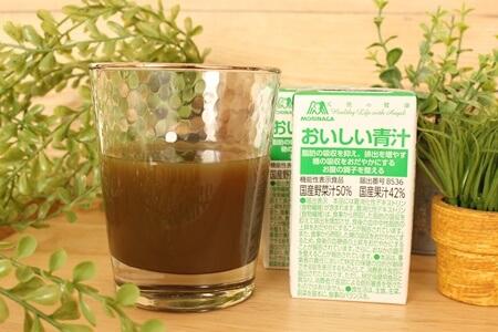 森永製菓おいしい青汁