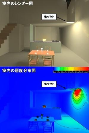 明るさのシミュレーション技術ー空間の明るさを再現